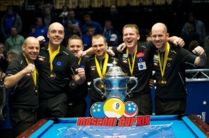 Erope WIns Third Straight Mosconi Cup Title