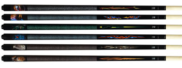 McDermott Lucky Pool Cues L63-L68