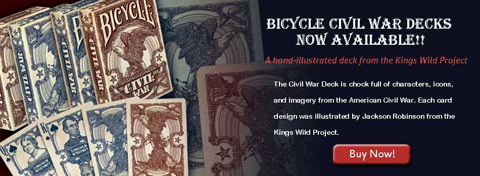 Bicycle Civil War Playing Cards