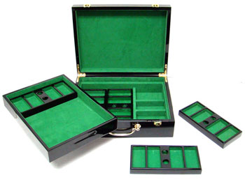 500pc Hi Gloss Poker Chip Case