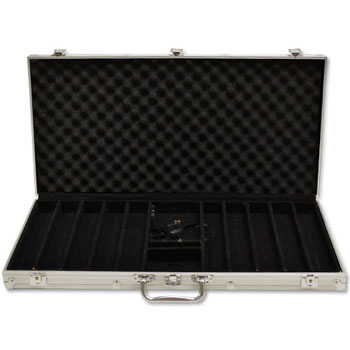 750pc Aluminum Poker Chip Case