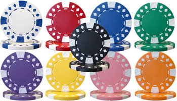 Diamond Suited Poker Chips