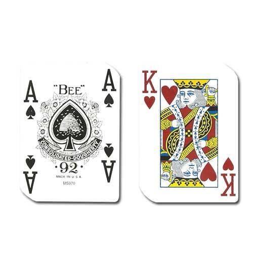 Casino used cards