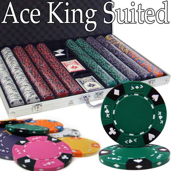 ace king poker chips