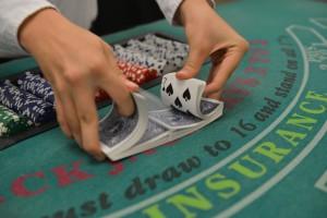 Blackjack Dealer Shuffle