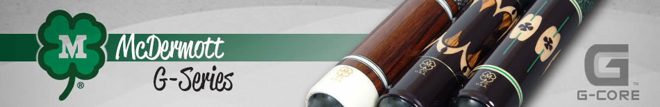 McDermott G-Series Pool Cues
