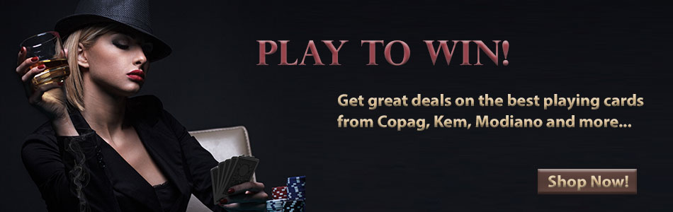 Copag, KEM, Modiano Plastic Playing Cards