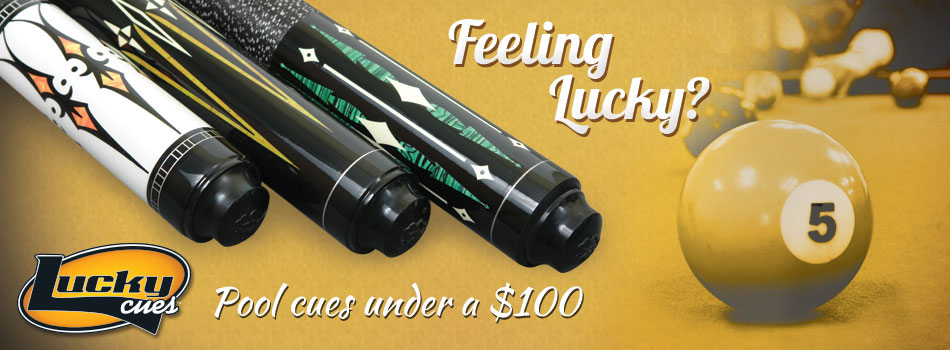 McDermott Lucky Pool Cues