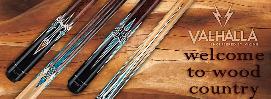 Viking Valhalla Pool Cues