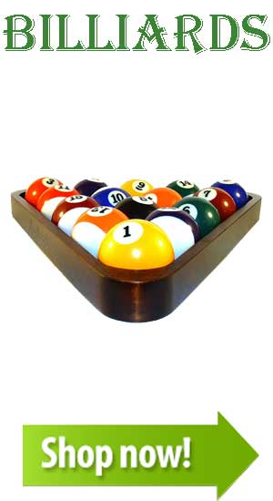 Billiards Equipment and Supplies