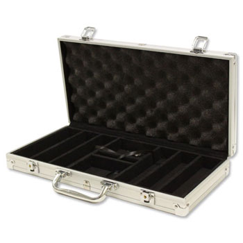 300pc Aluminum Poker Chip Case