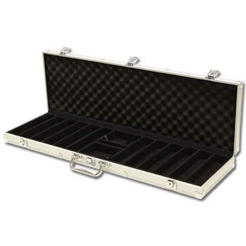 600pc Aluminum Poker Chip Case