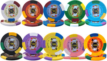 Kings Casino Poker Chips