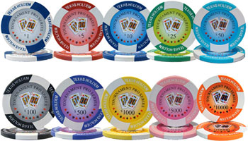 Tournament Pro Poker Chips